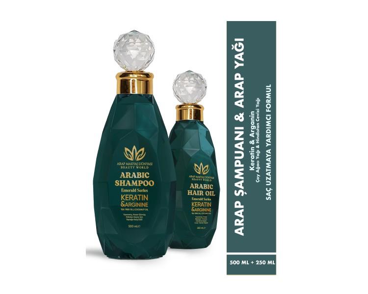 Arap Yağı & Şampuanı 2'li Set
