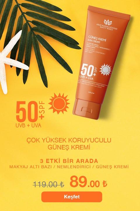 Arap Makyaj Dünyası Güneş Kremi